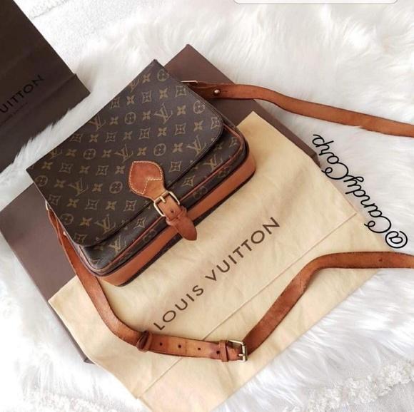 Louis Vuitton Handbags - **SOLD!!!** VINTAGE LOUIS VUITTON CARTOUCHIERE GM